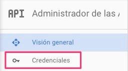 Credenciales Google Client ID