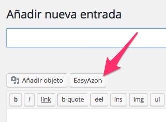 Añadir producto afiliado con EasyAzon