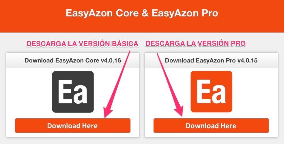 EasyAzon 4 Core y Pro