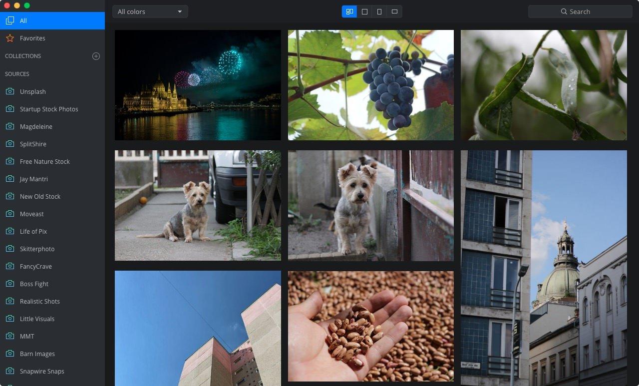 Buscador de imágenes gratuitas Zoommy