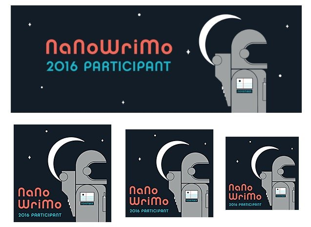 Banners NaNoWriMo