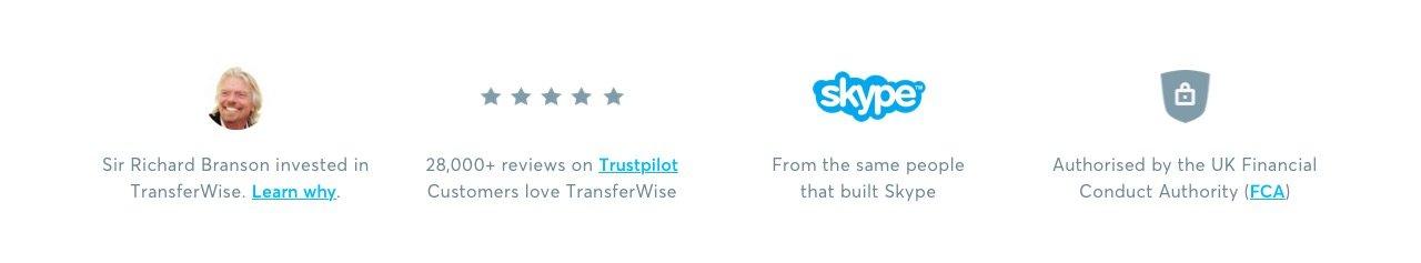 Opiniones de TransferWise