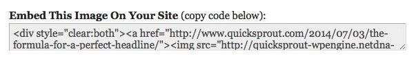 Embeber una infografía con código