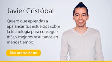 ¿Quién es Javier Cristóbal?