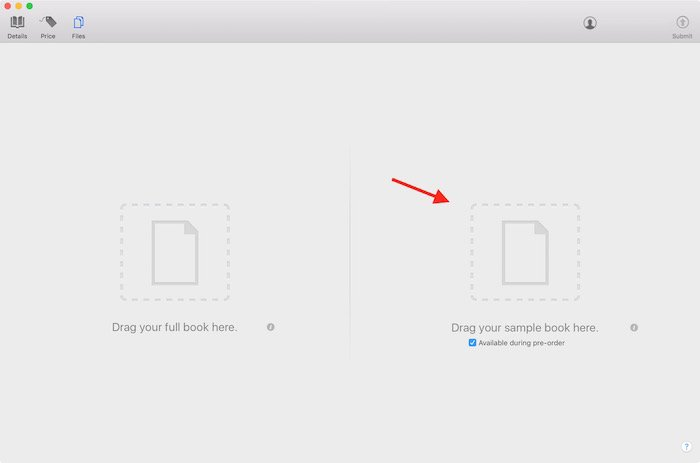 Como crear sneak peek o vistazos en iBooks