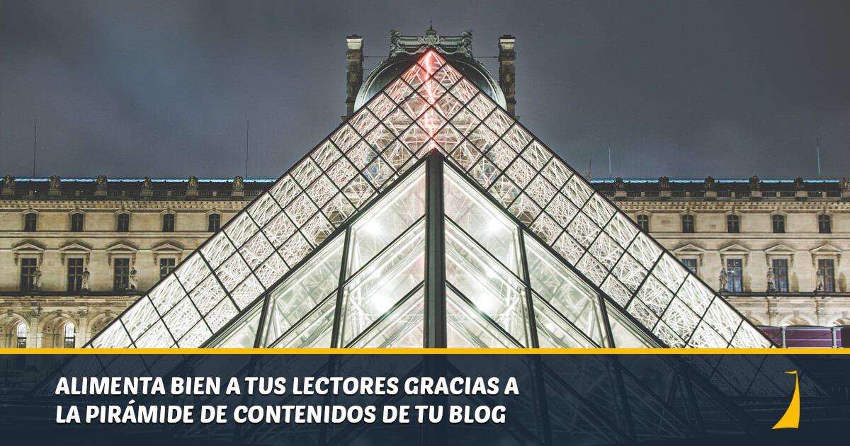 Pirámide de contenidos, ofrece una dieta equilibrada a tus lectores