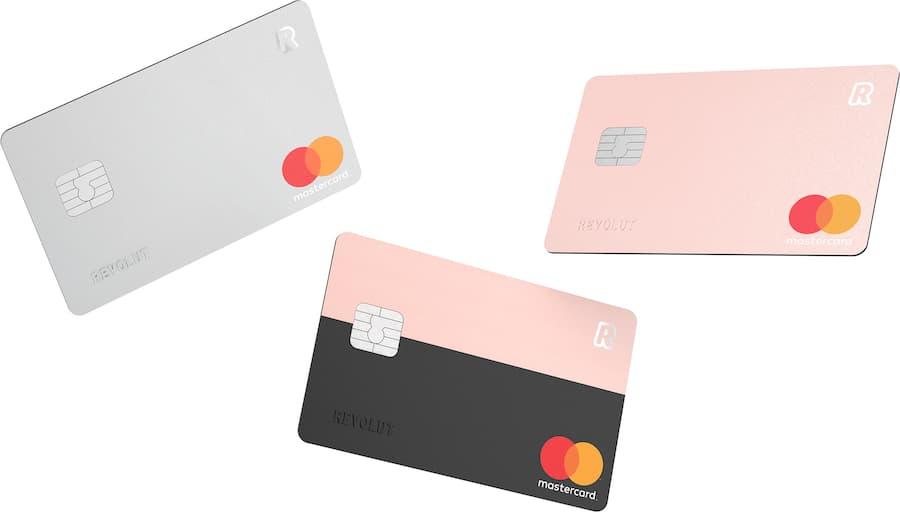Tipos de tarjeta Revolut