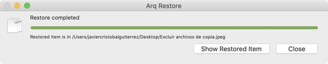 Archivo restaurado en Arq