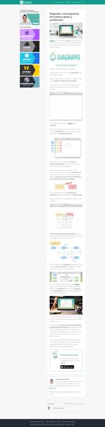 Captura de una pagina web completa con Eagle