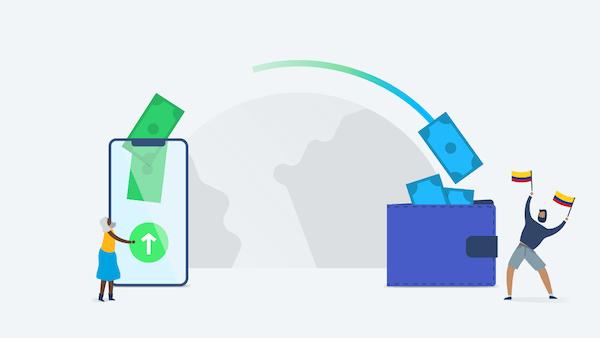 Transferir a pesos colombianos con TransferWise